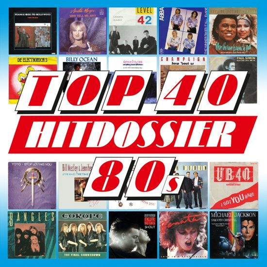 Various - Top 40 Hitdossier 80's (5CD)