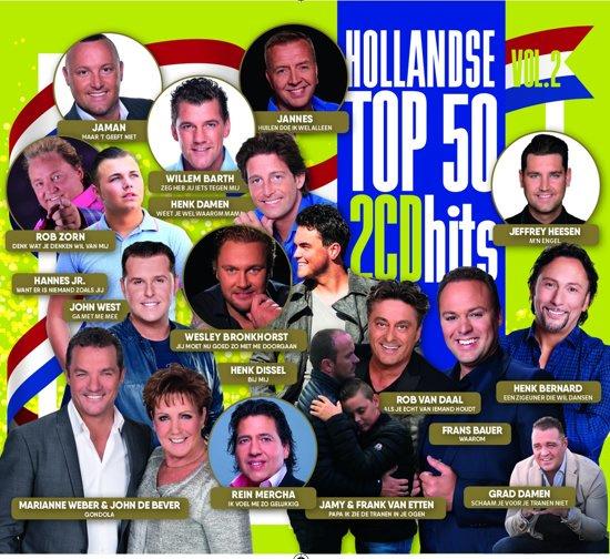 Various - Hollandse Hits Top 50 - Deel 2 (2CD)