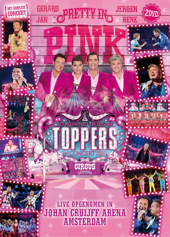 Toppers - Toppers In Concert 2018 (2DVD)