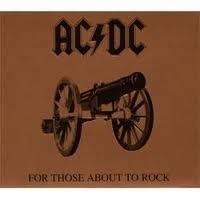 AC/DC - For Those About To Rock We Salute You  (1LP)
