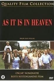 Movie - As it is in Heaven  (1DVD)