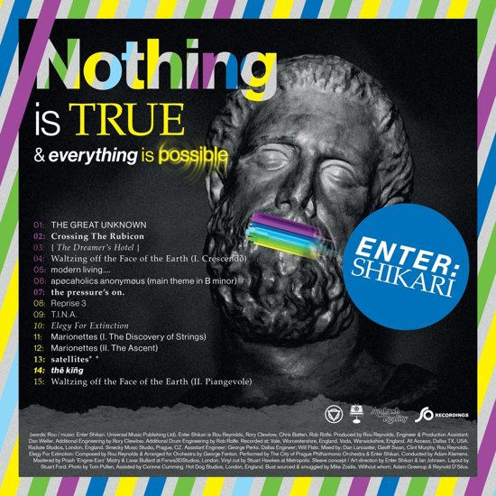 Enter Shikari - Nothing Is True & Everything Is Possible (1CD)