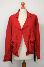 Cora Kemperman rood jasje-S
