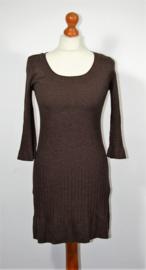 H&M bruine jurk-S