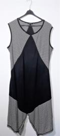 Hebbeding zwart/witte jurk-2