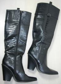 Hoge zwarte laarzen-39