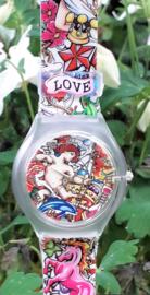 Linkgraphix Love horloge