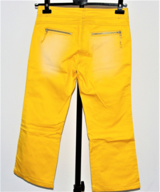 Vero Moda gele 3/4 broek-38