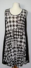 Ophilia zwart/witte jurk-48
