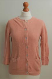 Zara knit roze vest-M