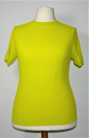 zara geel/groene top-XL