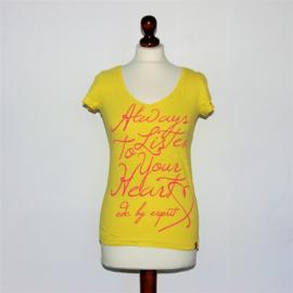 EDC geel t shirt-XS