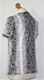 Scamm animalprint shirt-L