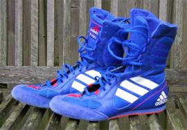Adidas blauwe hoge sneakers- 40 (uk 7)
