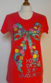 April Evil t shirt- L