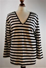 Ben Barton gestreept shirt- 46