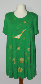Edgar Vos groene jurk-XL