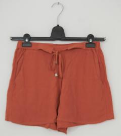 MbyM terracotta rood broek/short-XS