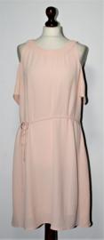Aako perzikkleurige jurk-S