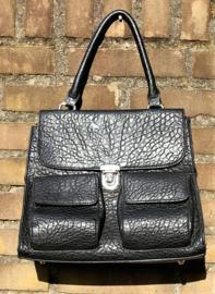 Pieces zwarte tas