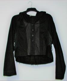 Cora Kemperman zwarte blouse-XL