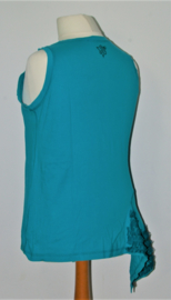 Cora Kemperman blauwe top-XL