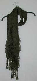 Cora Kemperman groene sjaal-M