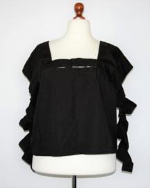 Oakydoky zwarte blouse/tuniek-2