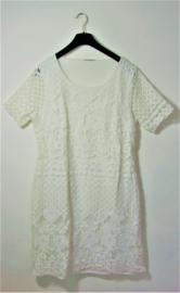 Miss Etam witte jurk-L