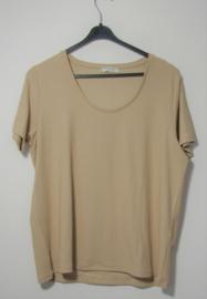 Pieces beige t-shirt-XL
