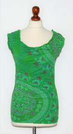 Desigual groen shirt-S