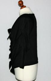 Cora Kemperman zwart shirt-M