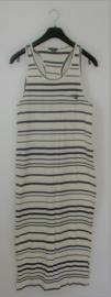 MbyM blauw-wit gestreepte jurk-M