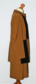 Sao Paulo bruin kostuum met rok- 46