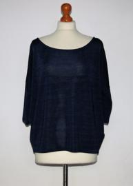 Supertrash blauw shirt- XS