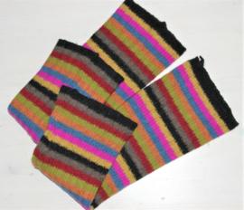 Cora Kemperman kleurrijke armwarmers- M