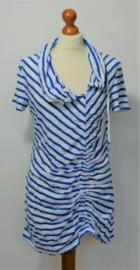 Hollie blauw-wit gestreept shirt-L
