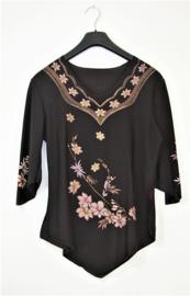 Tanga zwart shirt-XS