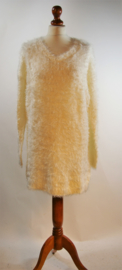Esmara witte teddy jurk-36