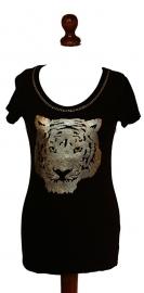 Coolcat tijger tshirt- L