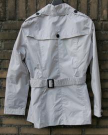 We grijze trenchcoat- XL
