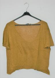 Zara bruin shirt-L