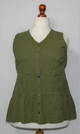 Groene blouse -XL