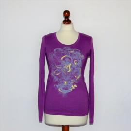 Esprit paars shirt-S
