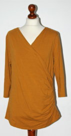 Promiss mosterdgeel shirt-XL