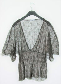 Zara zwarte top-L