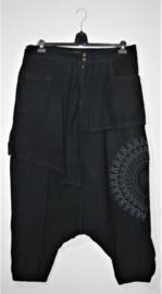Coline zwarte zouave broek- XL