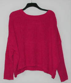Zara roze trui-M