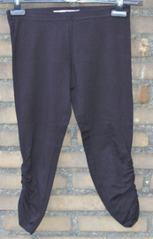 Exclusive design zwarte korte legging- S/M