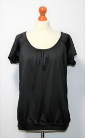 H&M zwart sportshirt- L